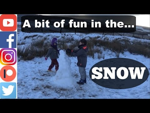 A Bit Of Family Fun In The Snow. Try and Watch Without Laughing