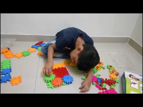 How to Keep Kids busy at Home ( New Building Blocks)