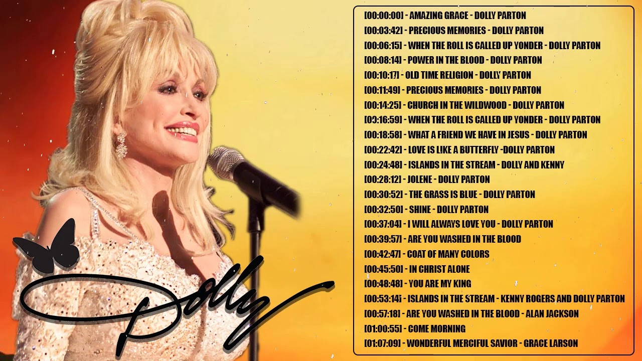Classic Country Gospel Dolly Parton - Dolly Parton Greatest Hits - Dolly Parton Gospel Songs
