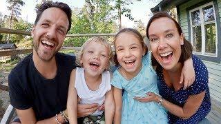 Familjens stora äventyr VLOGG
