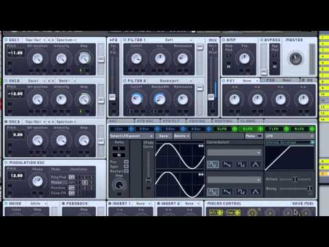 How to Make a Robotic Dubstep Bass like Datsik, Excision and others in Massive by Xenith