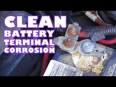 How to Clean Battery Terminal Corrosion
