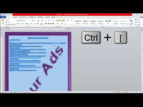 making magazine page in ms word مجله عن طريق برنامج الميكروسوفت ورد