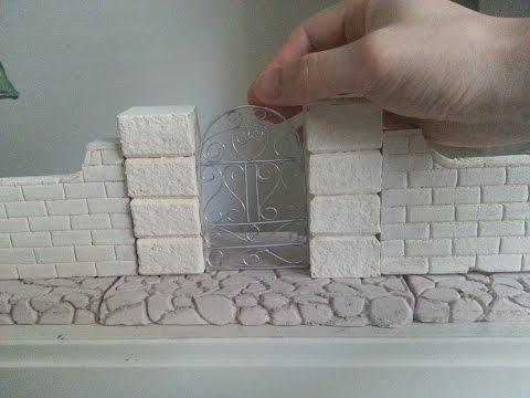 DIY Miniature Garden Gate