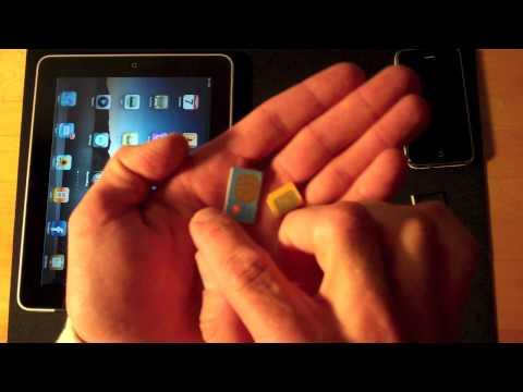 iPad & iPhone SIM Cards: micro vs mini