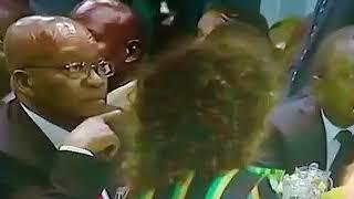 Who is Zuma threatening to kill?