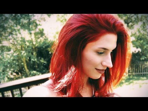 HOW TO MAKE RED HAIR COLOR LAST   ft. Aveda Products