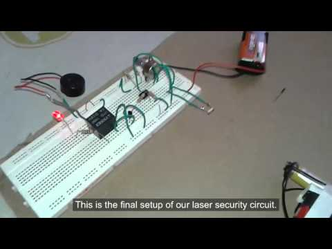 DIY Burglar alarm using very common components!