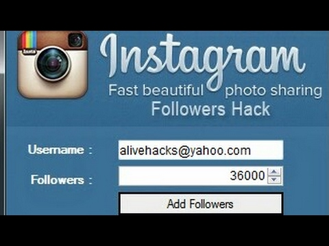 How to hack instagram followers, like and comments