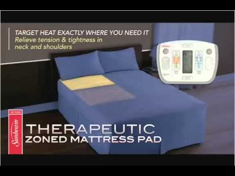 Sunbeam Therapeutic Heated Mattress Pad