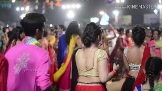 New Latest Bollywood Family Garba Dance 2018!  Gujrati Dandiya Parogram !