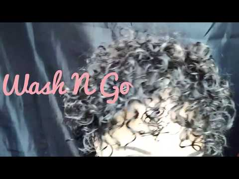 Wash N Go On Short Natural Hair | Fine Curly Hair