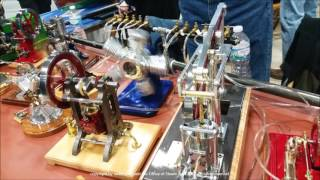 NAMES Show April 2017 Sights and Sounds Working Model Steam, Gas, and Stirling Cycle Engines  Part 3