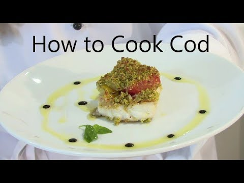 How to Pan seared cod with a herb tomato crust |TheHookandTheCook|