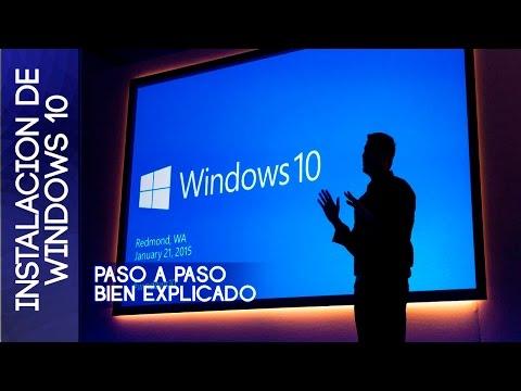 Como instalar windows 10 cualquier versión |32 & 64 Bits| |Original 2015|