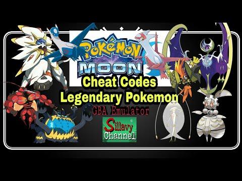 Cheat Codes Legendary Pokemon Moon GBA Emulator