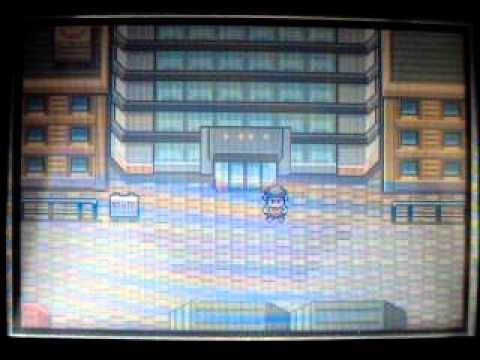 Pokemon FireRed/LeafGreen -  How to find gary at Silph CO.