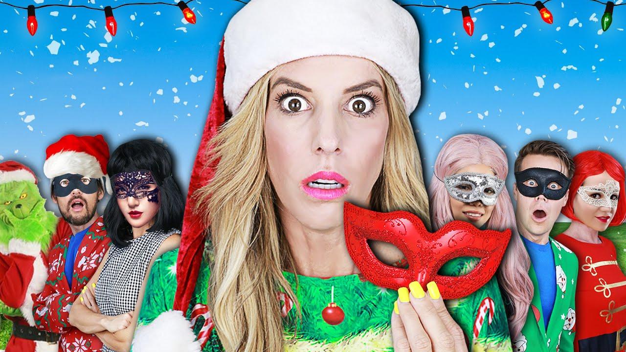 Giant HACKER Christmas in Summer MASQUERADE BALL - Rebecca Zamolo