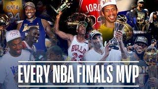 Every NBA Finals MVP in League History | Michael Jordan, LeBron James, Magic Johnson and More!