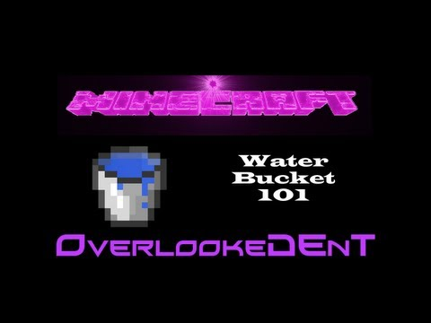 Water Bucket 101 - Minecraft Xbox 360/PS3 - [Tutorial]