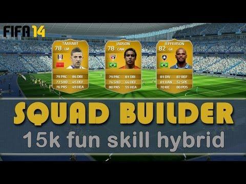 FIFA 14 - 15k Fun Skill Hybrid - Squad Builder - Ultimate Team