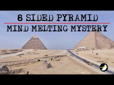 8 Sided PYRAMID Ancient Mystery