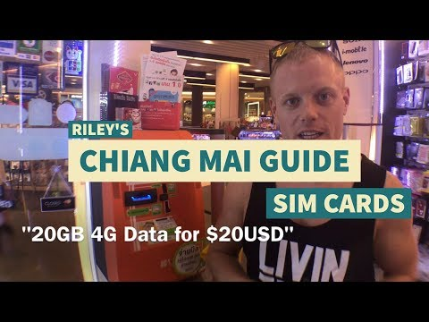 How to: SIM Cards in Thailand – Chiang Mai / Bangkok Tips & Tricks Travel Guide – What to Know