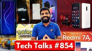 Tech Talks #854 - Realme X Spiderman Edition, Mi A3/A3 Lite, Samsung Note 10+, Honor Update, Asus 6Z