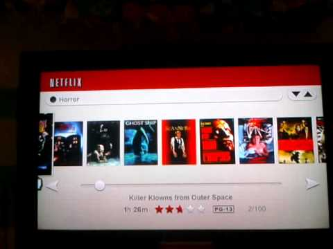Netflix Watch Instantly on Nintendo Wii First Impressions and Walk Through