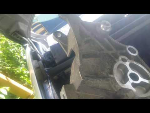 How to remove a alternator in a Pontiac Montana