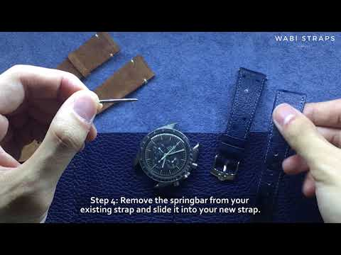 How To Change a Watch Strap? - Replacement New Watch Band DIY Tutorial | Wabistraps