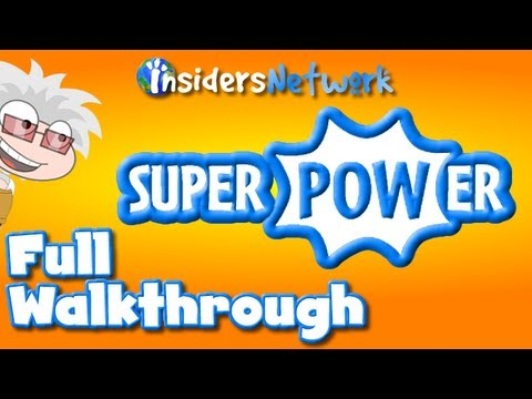 ★ Poptropica: Super Power Island FULL Walkthrough ★
