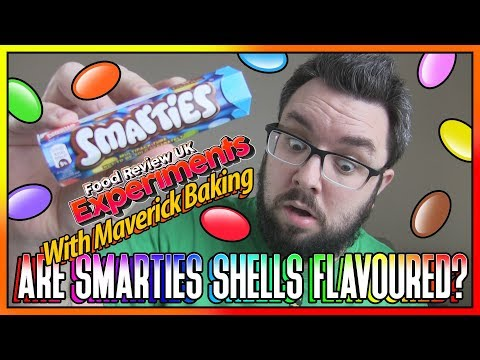 Are Smarties Shells Flavoured? | Experiment With Maverick Baking