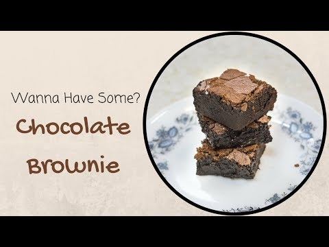 Chocolate Brownie Recipe | Microwave Brownie Recipe | Fudgy Brownies | Easy & Chewy Brownie Recipe