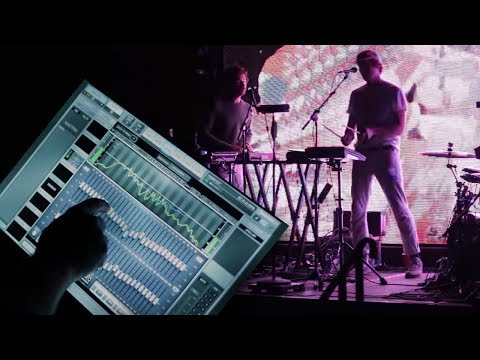 Behind the Live Sound of Washed Out - eMotion LV1 Mixer