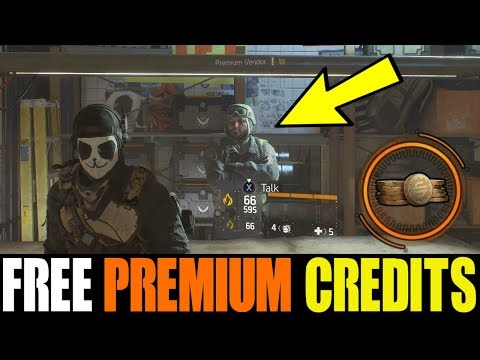 THE DIVISION - HOW TO GET FREE EMOTES & PREMIUM CREDITS | NEW REFERRAL PROGRAM REWARDS