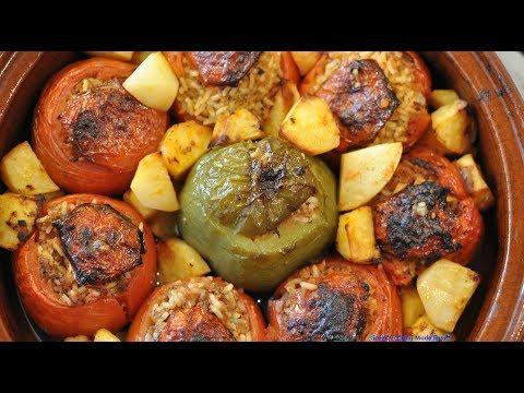 Greek Stuffed Tomatoes by Yiayia Deppy Made Easy