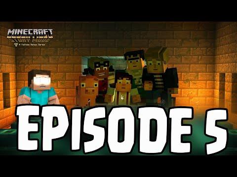 Minecraft: Story Mode - Herobrine Sighting? EPISODE 5