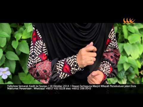 Promo Panel_Semarak Kasih Ke Syurga_Ustazah Isfadiah