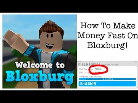 *Outdated* HOW TO EARN AND GET PROMOTED FAST IN BLOXBURG!!