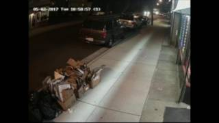 Video captures shots in drive-by shooting