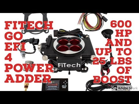 FiTech Go EFI 600 Power Adder 30004 Fuel Injection