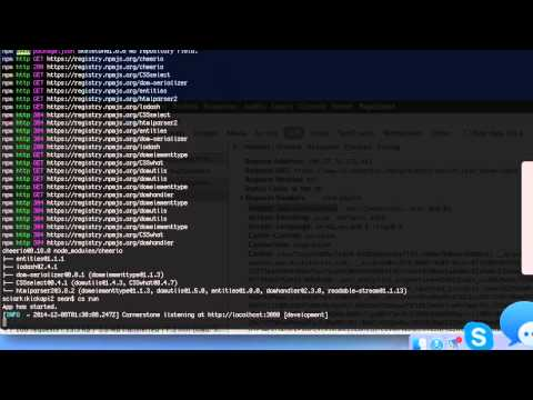 Make an API by Scraping Ajax Calls with NodeJS