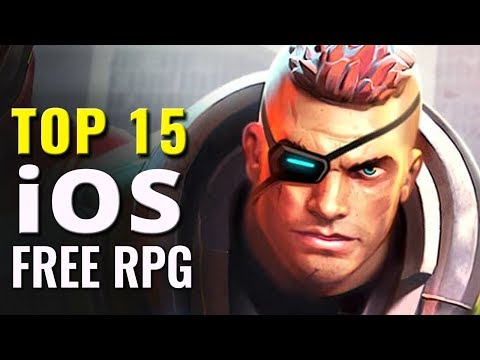 Top 15 Free iOS RPG Games of All Time