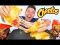HOT CHEETOS QUESADILLA • Mukbang & Recipe