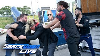 Kevin Owens and Dolph Ziggler brawl in the parking lot: SmackDown LIVE: July 9, 2019