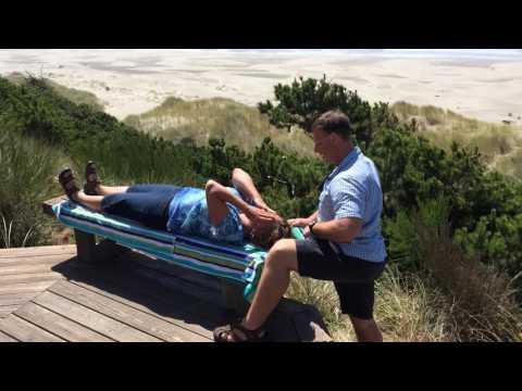 Lacey WA Chiropractor Oceanside Snap Crack & Pop Adjustment w Dr David Warwick