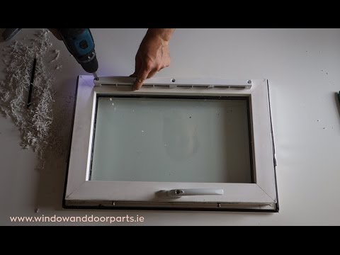 How to retro fit a trickle vent in a uPVC window