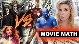 Box Office for Men in Black International, Dark Phoenix 2nd Weekend Drop