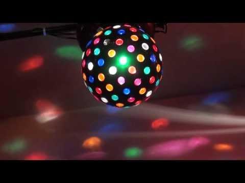 Large Rotating Disco Ball QL-110.MTS